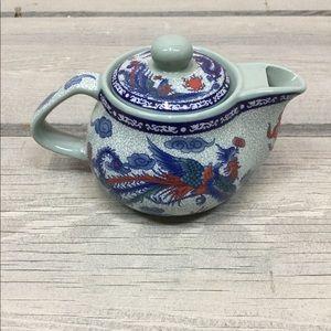 Vintage Green Dragon Far East Miniature Teapot